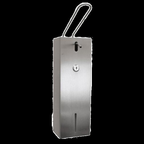 Distributeur de gel hydroalcoolique-inox-1L
